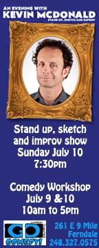 Go Comedy Kevin McDonald Ad