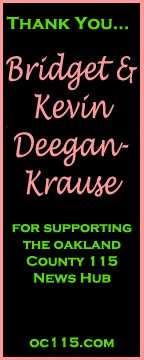 bridget and kevin deegan krause thank you