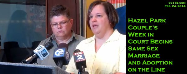 aclu hearing michigan same sex marriage in Scottsdale