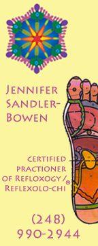 jennifer sandler bowen reflexology