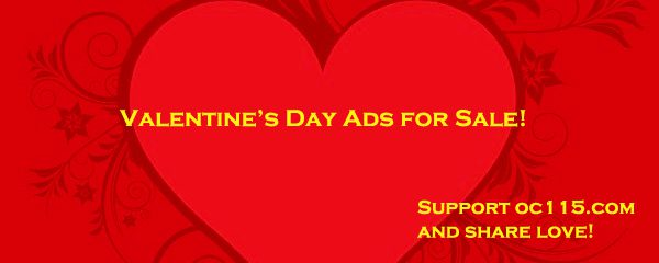 Valentine S Day Ads For Sale To Support Oc115 Com Oakland County