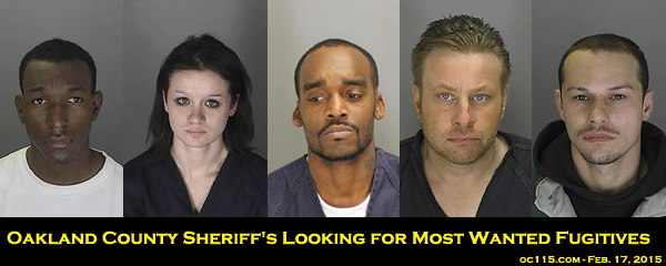 Oakland County Sheriff's Looking for Most Wanted Fugitives | Oakland