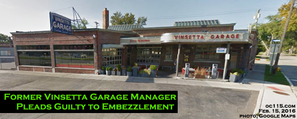 Former Vinsetta Garage Manager Pleads Guilty To Embezzlement