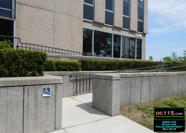 20160601_Royal Oak Jail Building Tour_02_wheelchair ramp