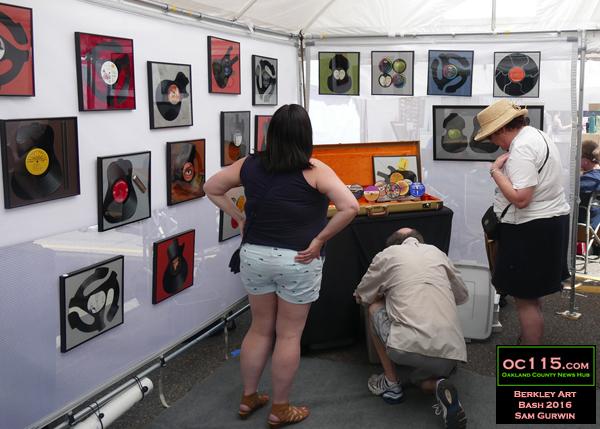 20160612_berkley art bash_digging through records