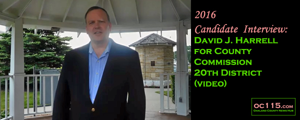 20160708 candidate interview David Harrell troy title