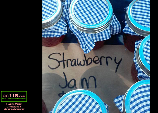 20160710_Hazel Park Market _strawberry jam