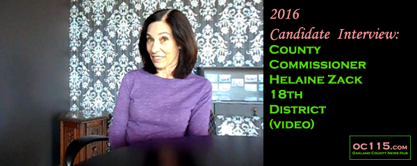 20160730_2016 Candidate Interview County Commissioner Helaine Zack 18th District title