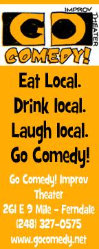 Go Comedy Ad Orangetastic
