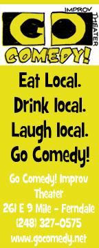 Go Comedy Ad yellow