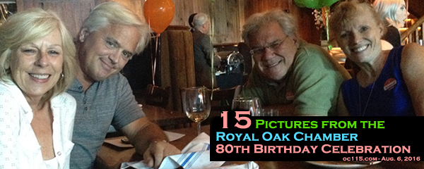 15 Pictures From The Royal Oak Chamber 80th Birthday