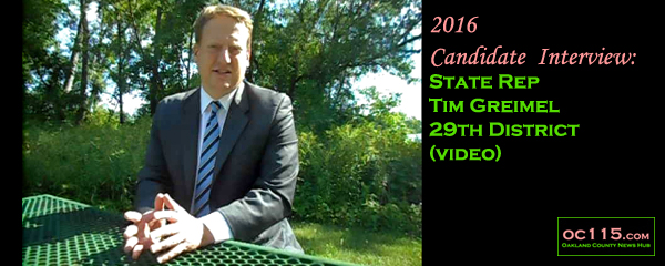 20160809_candidate interview tim griemel state rep 29 district title