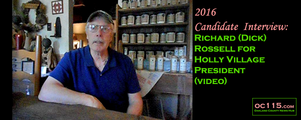 20160909_2016-candidate-interview-richard-dick-rossell-for-holly-village-president-title