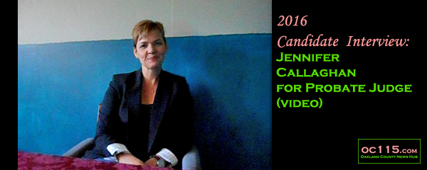 2016 Candidate Interview Jennifer Callaghan For Probate Judge