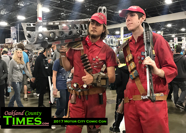 Three sides to the motor city comic con story the for Motor city comic con