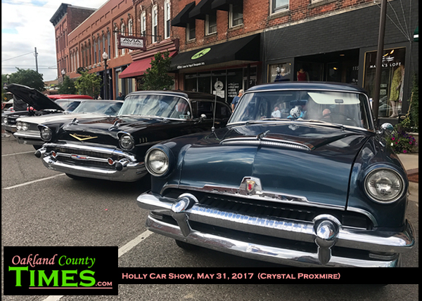 Wednesday Nights Are For Classic Cars In Downtown Holly