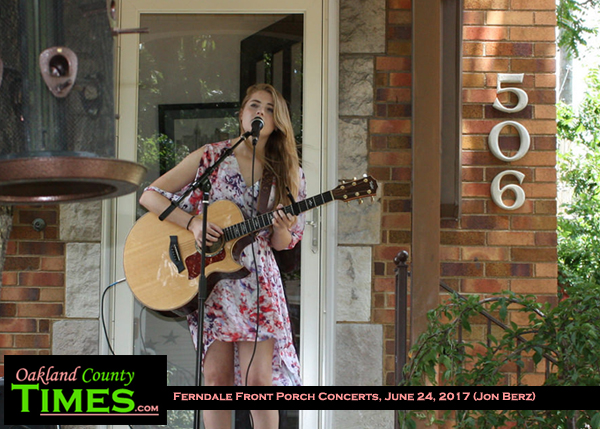 All The World S A Stage At Ferndale S Front Porch Music