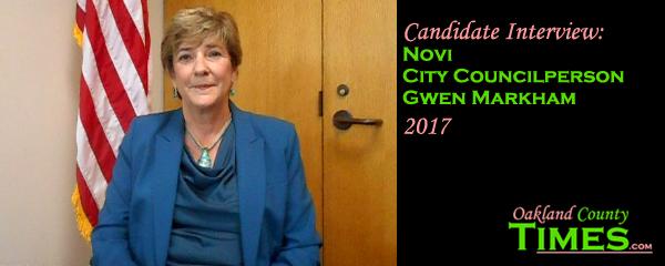 2017 Candidate Interview Novi Councilperson Gwen Markham Oakland County Times
