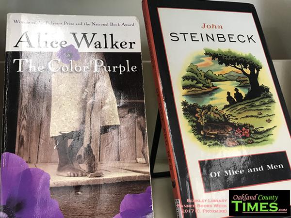Mug Shots, Paper Flames & More Part of Banned Books Week at Berkley ...