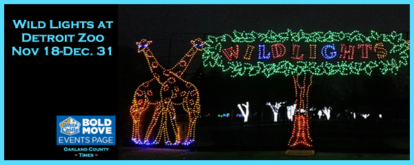 Detroit Zoo Christmas Lights.Wild Lights At Detroit Zoo Nov 18 Dec 31 Oakland County Times