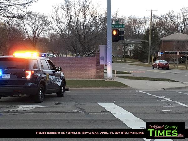 Fatal Shooting by Royal Oak Police Closes 13 Mile at Woodward