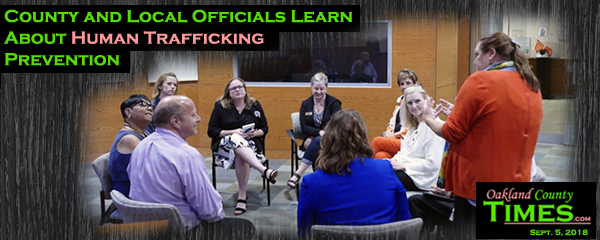 County and Local Officials Learn About Human Trafficking