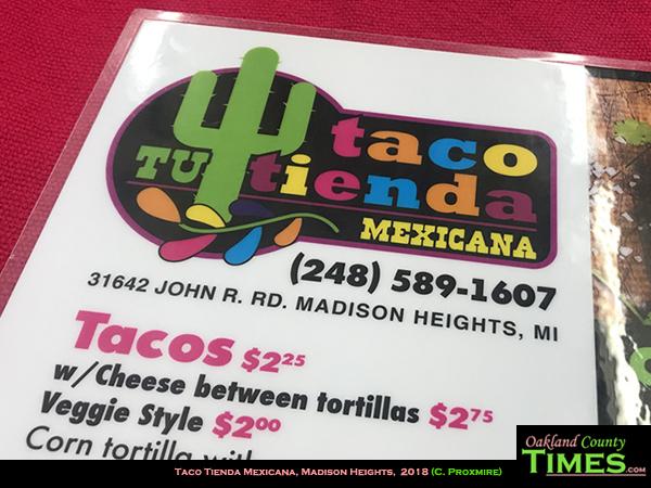 Reporter Food: Steak Burrito at Taco Tienda Mexicana