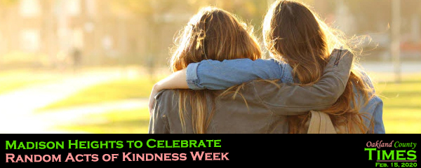 when is random acts of kindness week 2020
